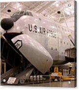 Douglas C 124c Globemaster Plane Acrylic Print