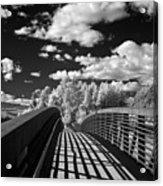 Dover Slough Bridge 1 Acrylic Print
