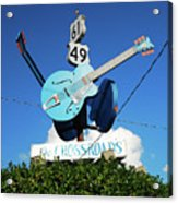 Down At The Crossroads Acrylic Print