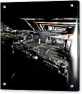 Down Below Acrylic Print by Mike Lindwasser Photography