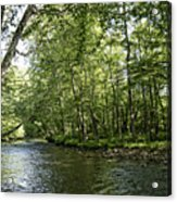 Down Beside Where The Waters Flow Acrylic Print