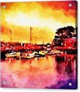 Down By Dock 2 Acrylic Print