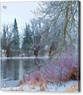 Down By The Riverbend Acrylic Print