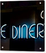 Down Home Diner  Acrylic Print