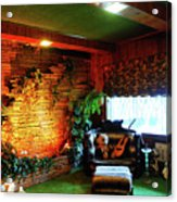 Down In The Jungle Room Acrylic Print