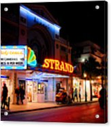 Down On Duval In Key West Acrylic Print