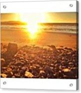 Down The Beach #beach Acrylic Print