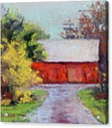 Down The County Road Acrylic Print