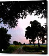 Down The Road Wc 2 Acrylic Print
