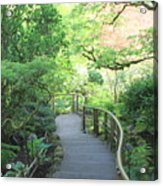 Down To The Garden Acrylic Print