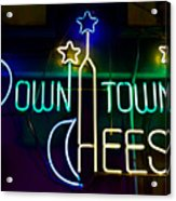Down Town Cheese Acrylic Print