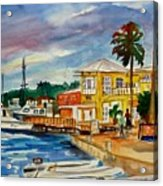 Down Town St Croix Acrylic Print