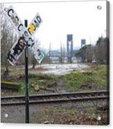 Downbound Train Acrylic Print