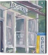 Downtown Books Four Acrylic Print
