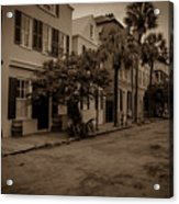 Vintage Downtown Charleston South Carolina Acrylic Print
