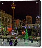 Downtown Christmas Acrylic Print
