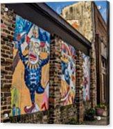 Downtown Clowns Acrylic Print