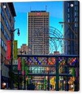 Downtown Color Acrylic Print