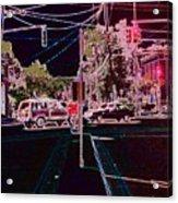 Downtown Eclipse Acrylic Print
