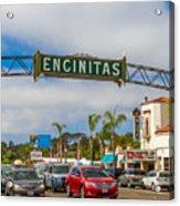 Downtown Encinitas Acrylic Print