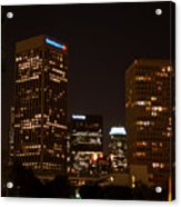 Downtown L.a. In Hdr Acrylic Print