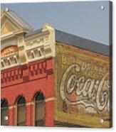 Downtown Livingston Montana Acrylic Print