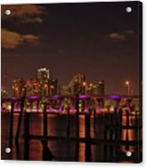 Downtown Miami Acrylic Print