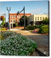 Downtown Murphy North Carolina Acrylic Print