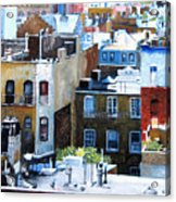 Downtown Nyc Rooftops Acrylic Print