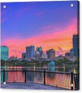 Downtown Orlando Florida  Acrylic Print