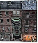 Downtown Philadelphia Building Acrylic Print