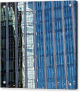 Downtown Reflection Acrylic Print