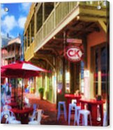 Downtown Rosemary Beach Florida # 2 Acrylic Print