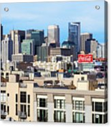 Downtown San Francisco Acrylic Print