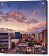 Downtown San Jose From City Heights Acrylic Print