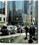Downtown Seattle Acrylic Print