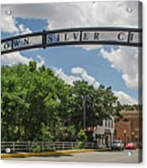 Downtown Silver City Acrylic Print