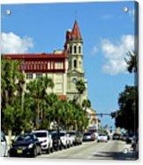 Downtown St Augustine Acrylic Print