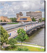 Downtown Waterloo Iowa  Acrylic Print
