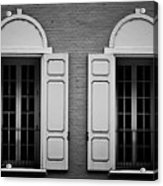 Downtown Windows Roanoke Virginia Acrylic Print