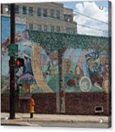 Downtown Winston Salem Series V Acrylic Print