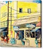 Downtown Wrightsville Beach Acrylic Print