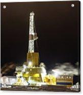 Doyon Drilling Rig And Camp Acrylic Print