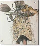 Dozo Warrior Acrylic Print