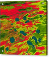 Dp Stone Impressions 22 Acrylic Print