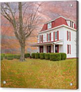 Dr Claude T. Old House Acrylic Print