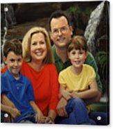 Dr. Devon Ballard And Family Acrylic Print