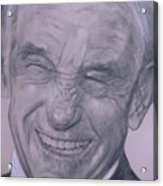 Dr. Ron Paul, Big Warm Smile Acrylic Print