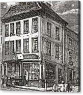 Dr. Samuel Johnson S Birthplace In Acrylic Print
