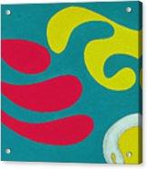 Dr. Seuss Breakfast Copyright Two Thousand Nine J.a.moscariello Acrylic Print